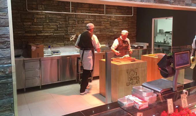 Shop fit-out for Whelan's Butchers, Dunnes Stores, Clonmel